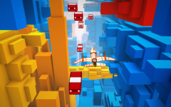 Voxel Fly: Screenshot