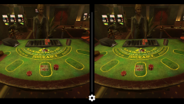 Blackjack VR: Screenshot